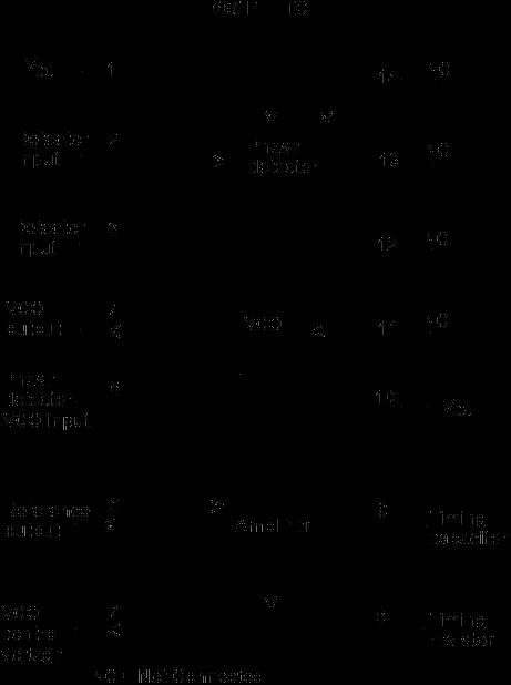 Pll fm detector fm pll detector ic 565 internal block diagram ccuart Images