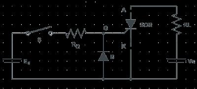 scr gate triggering circuits