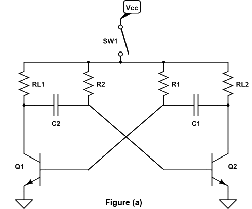 Collector Coupled Astable Multivibrator