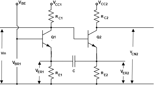 Emitter Coupled Astable Multivibrator