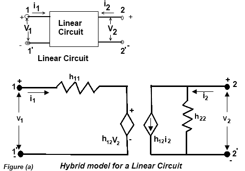hybrid or h parameters of linear circuit d\u0026e notesh parameters of linear circuit
