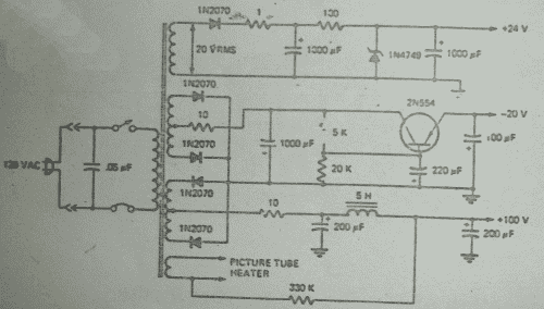 Multi-voltage Supply Circuit