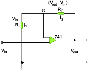 Non-Inverting Amplifier Alternate Method