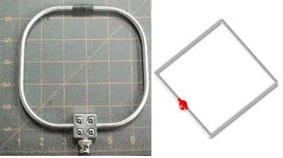 Square Loop Antenna